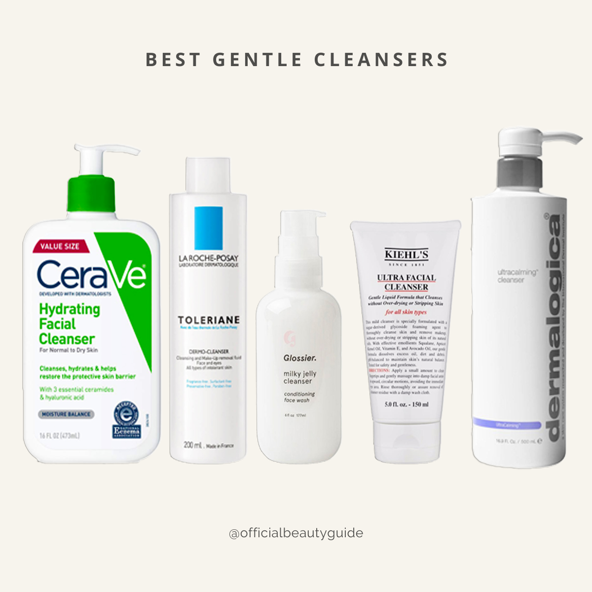 Gentle cleansers of 2020